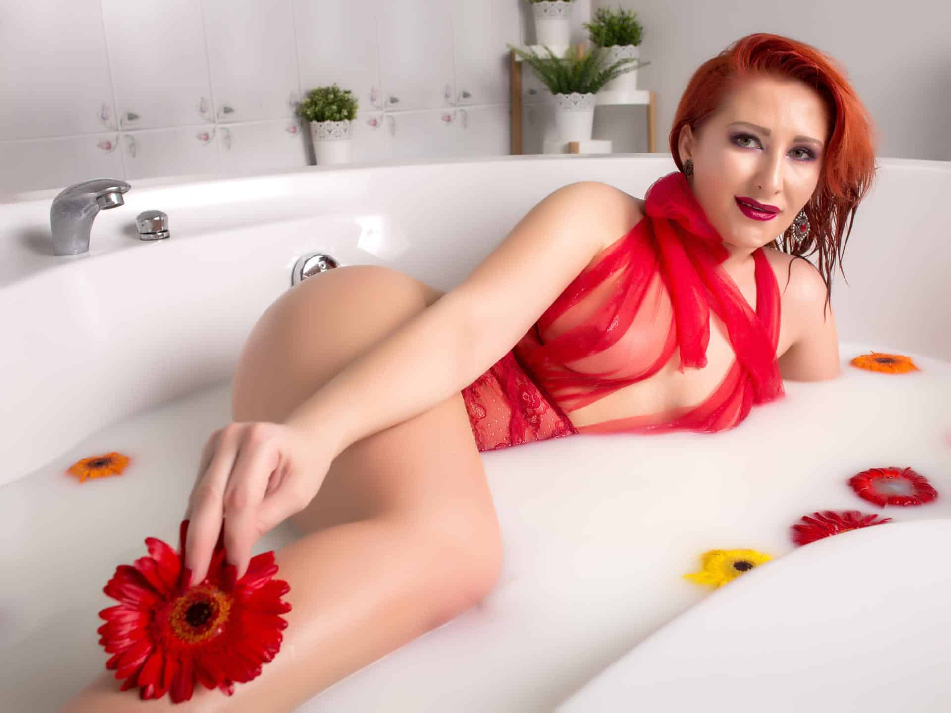 Redhead, Red-HOT Angels Cumming Straight OUT of the SEX CAMS