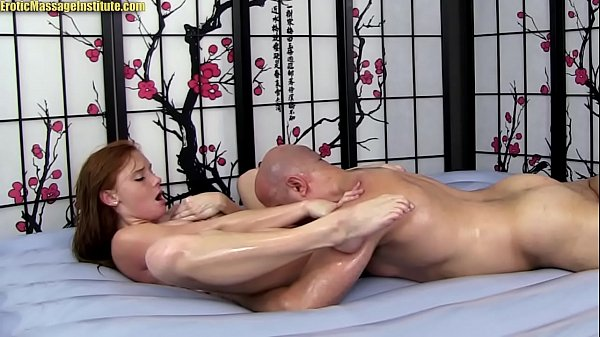 Alex Tanner Gives Sensual Erotic Massage   Sex and BJ
